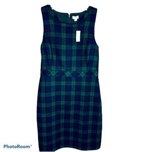 J.Crew Women's Dress Wool Plaid 12 NWT